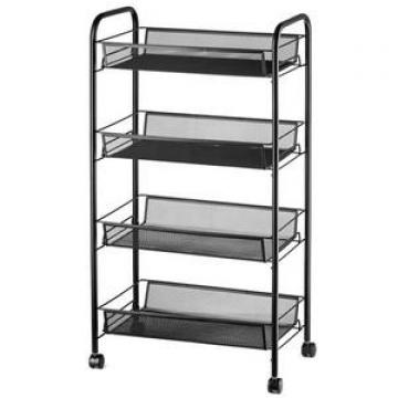 Four Layers shelf-Folding Metal Shelf-Small Space Solution Home,Kitchen,Bathroom and Office Shelving-Corner Shelf
