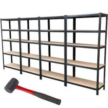 Free standing 4 tiers metal wire shelf tool storage display rack with wheels