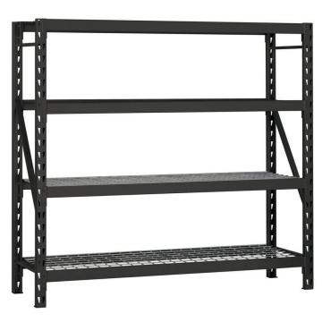 Bulk Rack Warehouse Pallet Shelving Units With Steel Decking