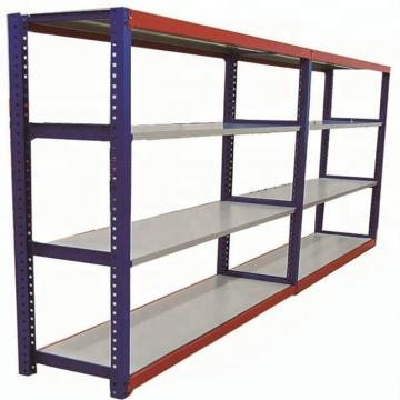 2 Layer Steel Metal Storage Warehouse Shelf Rack