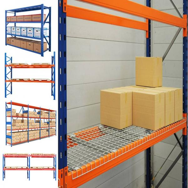 High quality steel movable adjustable warehouse folding spare powder coating metal pallet storage tire rack system